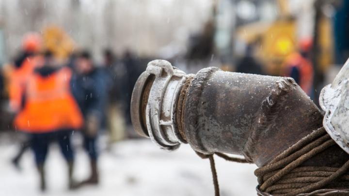 Перед праздниками центр Архангельска остался без воды