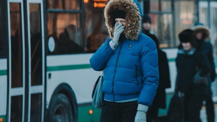 Потеплело, но ненадолго: как тюменцы пережили третий морозный день