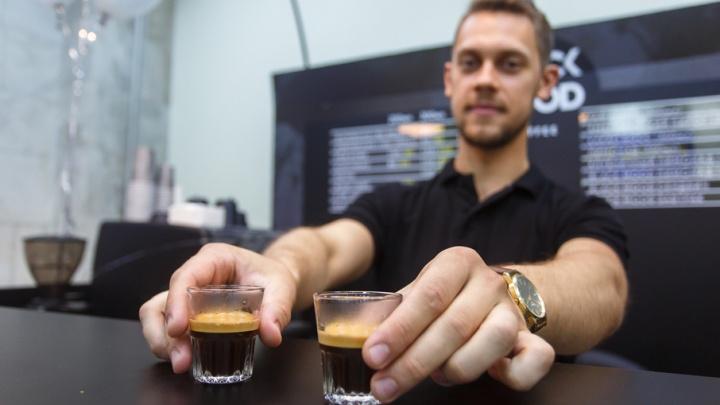 В Волгограде молодые бариста решили добиться успеха на кофе с беконом