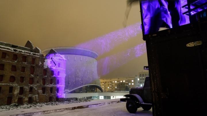 В Волгограде мельницу Гергардта оденут в уникальные светопроекции