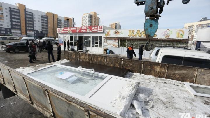 С незаконными киосками в Челябинске будут бороться с помощью онлайн-карты