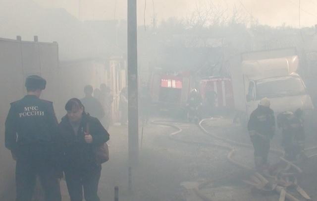 Площадь пожара на Актюбинской увеличилась почти в два раза