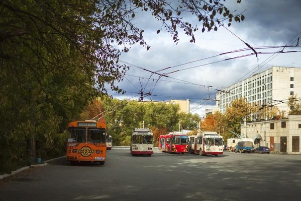 Электротранспорт проследует до остановки ДК «Строитель»