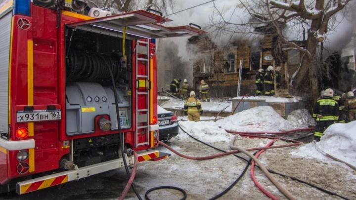 Меньше смертей в огне: в Самарской области количество пожаров снизилось на 10%