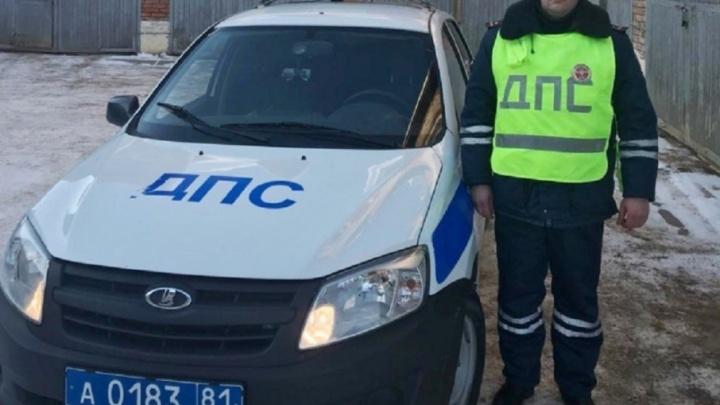 «Шла навстречу маме»: в Прикамье полицейский спас девочку, которая 1,5 часа бродила по улицам на морозе