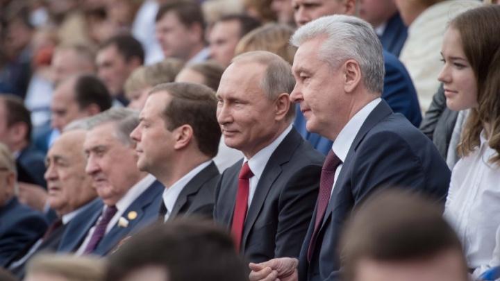 Сергей Собянин занял второе место в рейтинге вероятных преемников Путина
