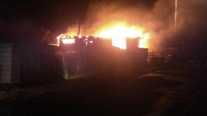 В Антипино пожар уничтожил частный дом
