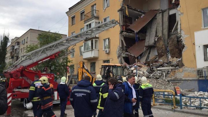 Очевидцы рассказали о взрыве дома на проспекте Университетском