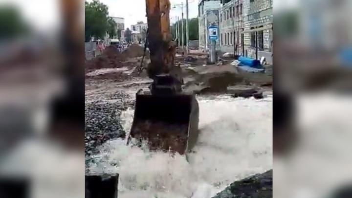 Из-за коммунальной аварии жителей центра Перми ожидают проблемы с водой