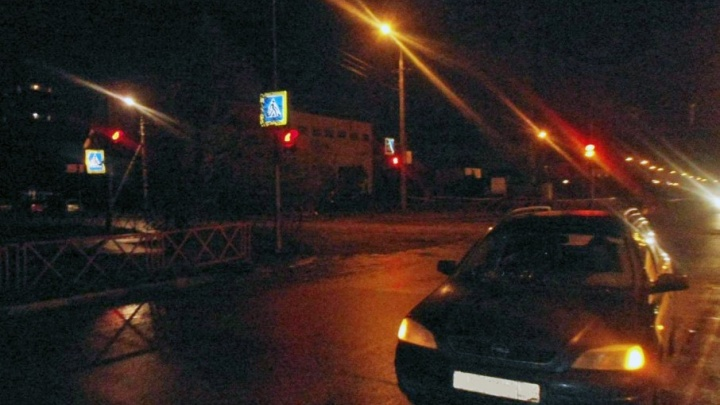 В Ярославле пьяный пешеход попал под авто