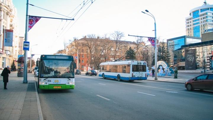 На улицы Ростова выйдут новые троллейбусы