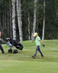 12-летний тюменский гольфист стал лучшим среди юниоров