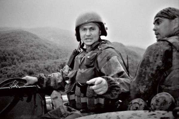 Бойцы отряда «Росич» в Чечне