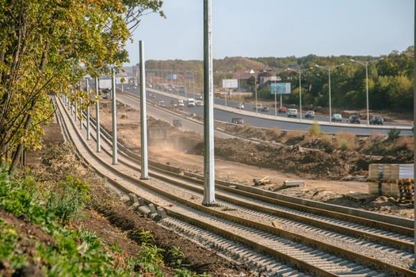 Выезжать на Московское шоссе трамваи будут с помощью автоматической стрелки