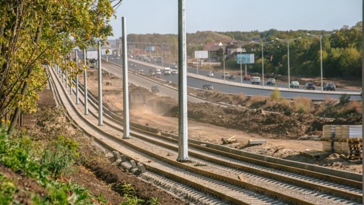 Движение трамваев на Московском шоссе и Ташкентской временно ограничат