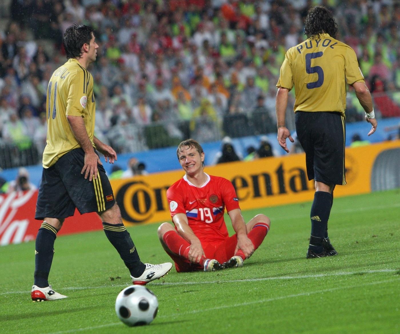 Россия - Испания, 2008 год