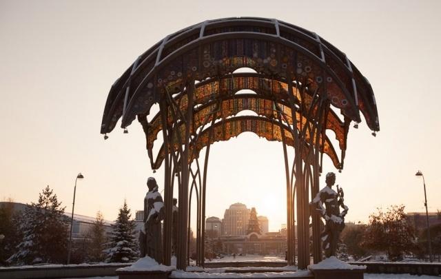Снежная Тюмень: в конце марта в город внезапно вернулась зима
