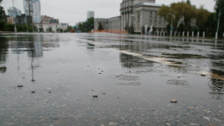 В выходные в Самарской области пройдут дожди с сильными порывами ветра