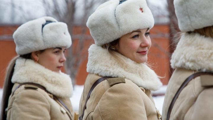 Взвод офицеров с косами выйдет на дороги Волгограда 1 и 2 февраля