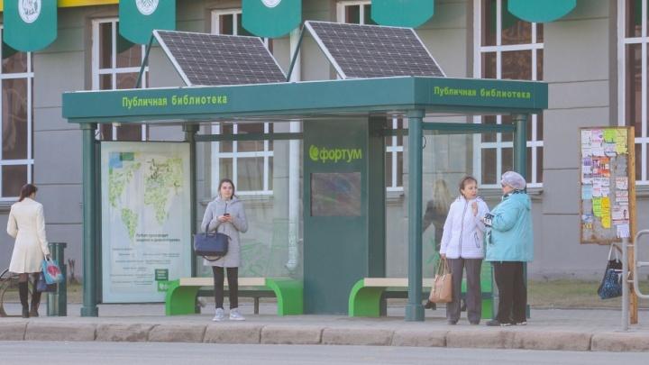 «Здесь не особо у нас пошло»: челябинцы установят тёплые остановки в Сургуте