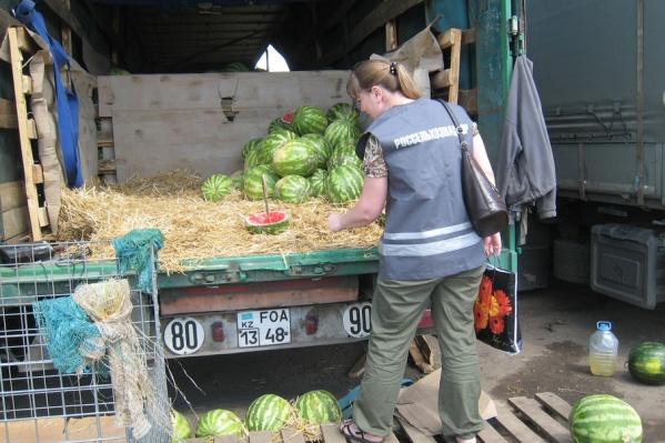 Непроверенные арбузы из Казахстана могут оказаться опасными