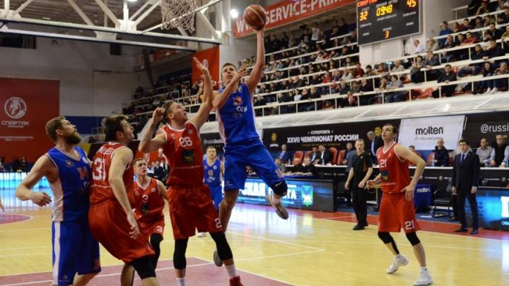 Историческая победа: баскетболисты «Самары» переиграли «Спартак-Приморье» во Владивостоке