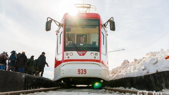 Для скоростного трамвая и не только: в Самаре увеличили мощность контактной сети