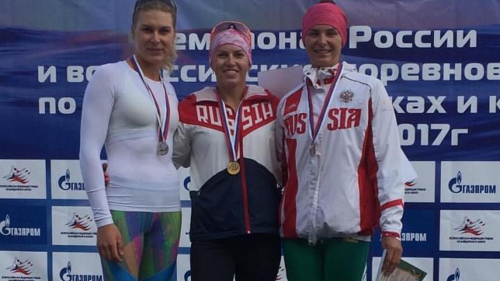 Байдарочница Наталья Подольская выиграла всероссийские соревнования в Москве