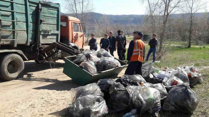 В Самарской области очистили полуостров Копылово: с места вывезли более тонны мусора