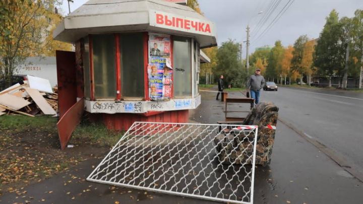 До конца года Архангельск избавится от 30 торговых точек на остановках