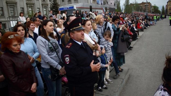 В Самаре на охрану Парада Победы выйдут 1500 полицейских
