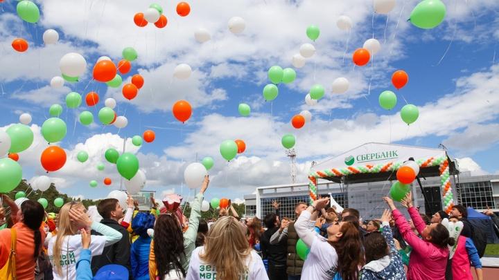 В Челябинске на старт «Зеленого марафона» вышло более трех тысяч человек
