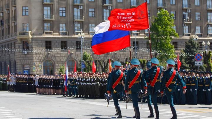 Генеральная репетиция парада Победы прошла в Волгограде