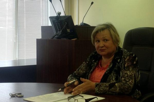 Ректором Одегова стала в 2011 году