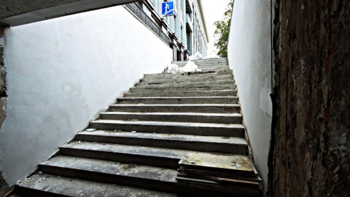 Подземный переход под площадью Революции «освежат» на 1,2 млн рублей