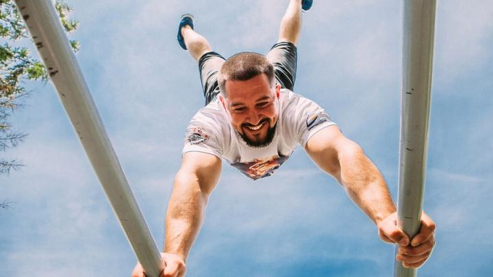 Street Workout Fest в «Апреле»: прочувствуй силу своего тела