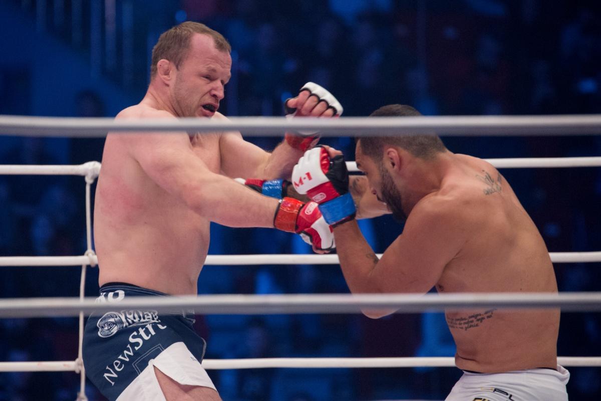 Главный бой вечера: Шлеменко против Силве