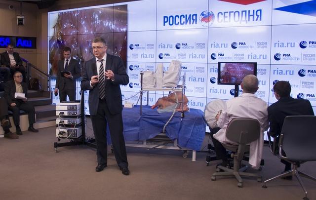В России создан свой роботизированный комплекс для хирургов