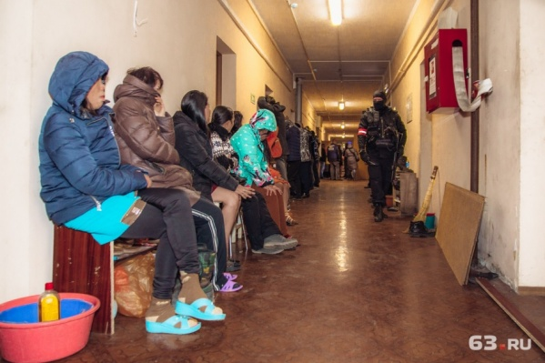 Мигранты нарушили законы России