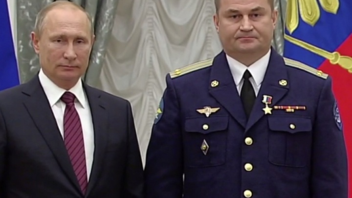 Президент Путин наградил космонавта из Рыбинска медалью «Героя России»