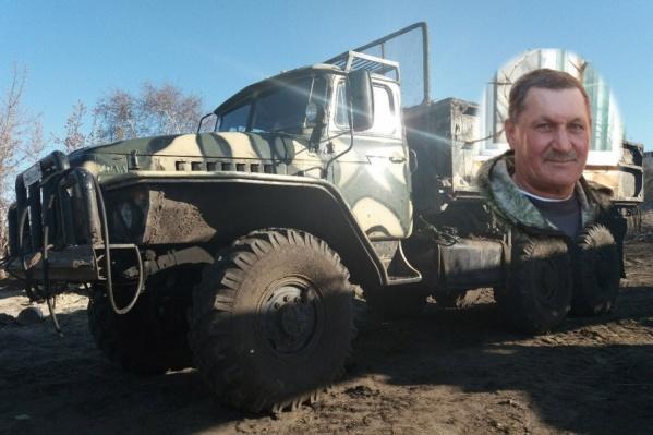 Владимир Савчук вытаскивал многодетную семью из воды на «Урале»