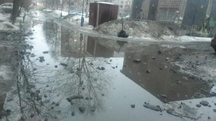 Архангельск из-за аномальных осадков превратился в «северную Венецию»