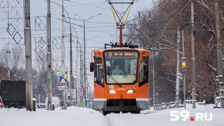 Губернатор Прикамья договорился с РЖД о проведении новой трамвайной ветки на Парковый