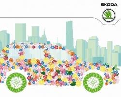 В женский день на улицы Ярославля выйдет цветочный патруль SKODA