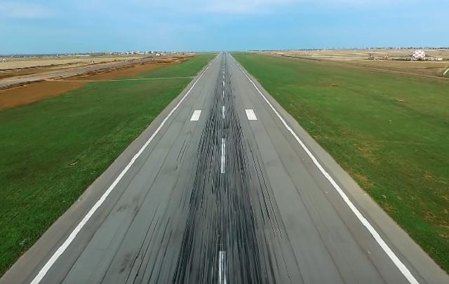 Реконструкцию аэропорта Волгограда сняли с высоты птичьего полета