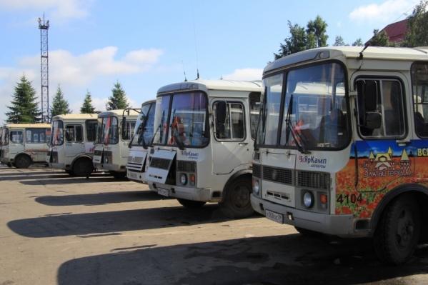 Закупят 18 новых автобусов различной вместимости