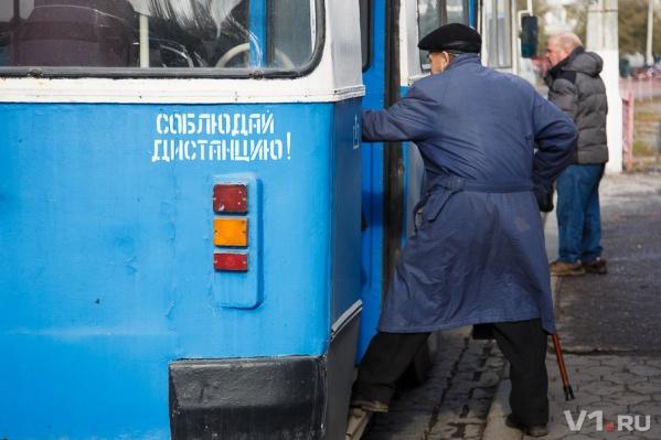 Троллейбусы потихоньку исчезают с улиц Волгограда
