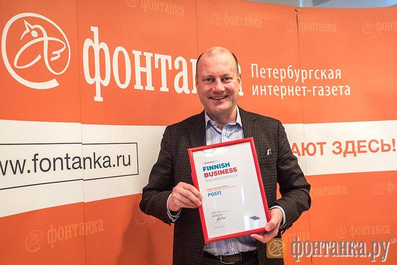 Генеральный директор и президент Itella в России Юсси Куутса