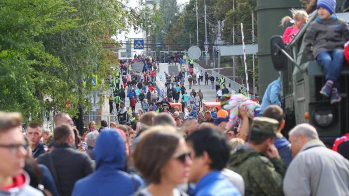 В Самаре День города на набережной отметили более 100 тысяч человек