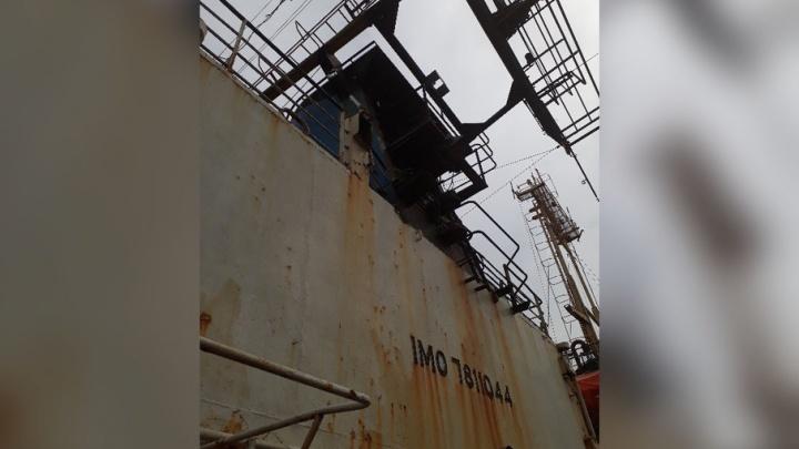 Украина выставила на продажу судно, зарегистрированное в Таганроге